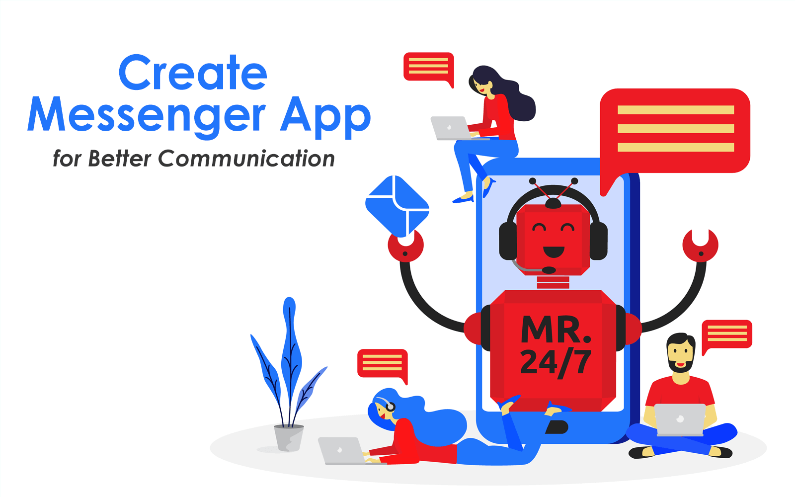 create messenger app